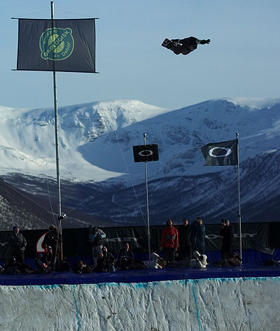 Highest air at Arctic Challenge 2004. These photos made many mags and a couple posters.